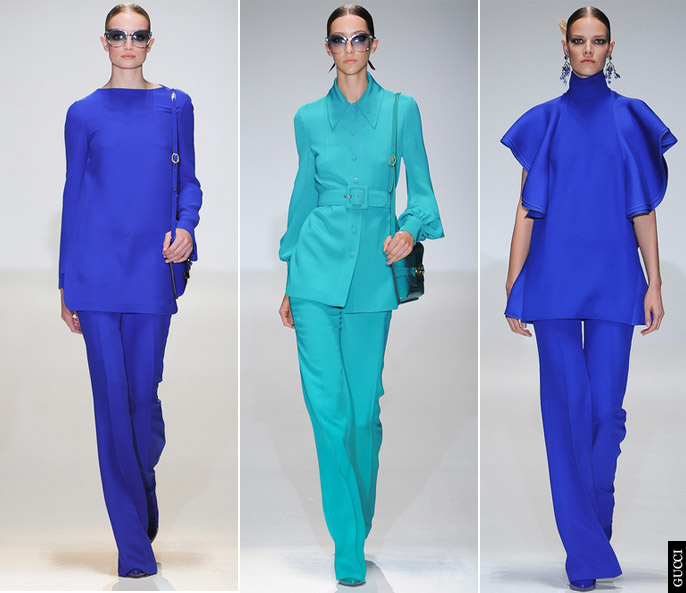 gucci spring summer 2013 An Explosion Of Colour
