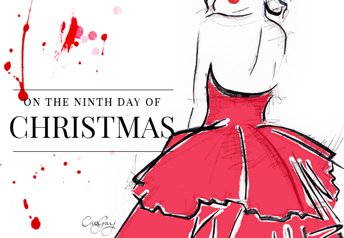 Ninth Day Of Christmas.On The 9th Day Of Christmas Uptown Twirl